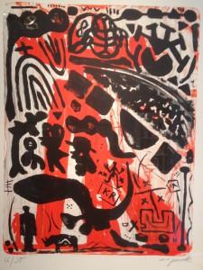 Penck, hommage Joseph Beuys