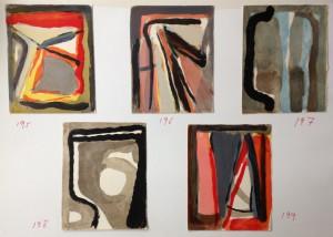 Br. van Velde, litho's 5x